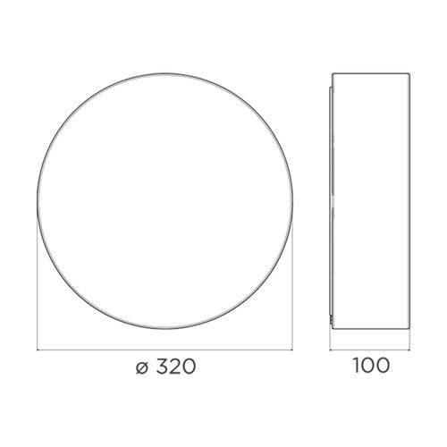 Plafon-Cilindro-Flat-300-DesTecnico