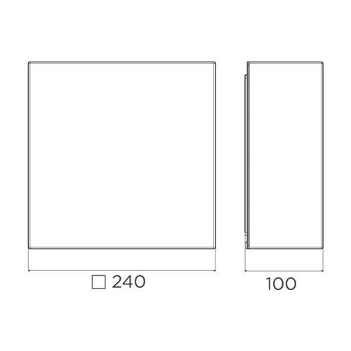 Plafon-Cubo-Flat-250-DesTecnico