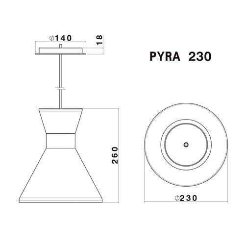 Pendente-Pyra-230-DesTecnico